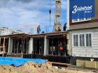 Ход строительства дома № 7 в ЖК Заречье - фото 36, Июль 2020