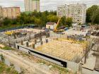 Ход строительства дома № 1 первый пусковой комплекс в ЖК Маяковский Парк - фото 84, Сентябрь 2020