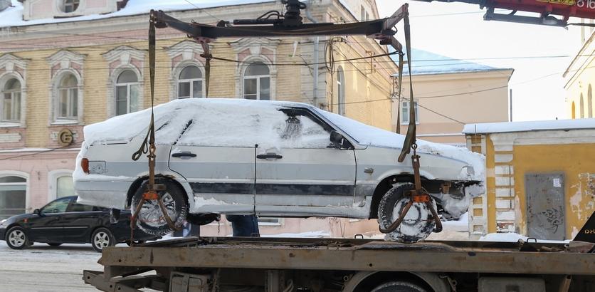 Ограничения парковки на нескольких нижегородских улицах продлили из-за уборки снега - фото 1