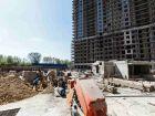 Ход строительства дома Литер 1 в ЖК Первый - фото 31, Апрель 2019