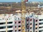 Ход строительства дома на участке № 214 в ЖК Солнечный город - фото 62, Апрель 2018
