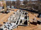 Ход строительства дома 61 в ЖК Москва Град - фото 48, Апрель 2019