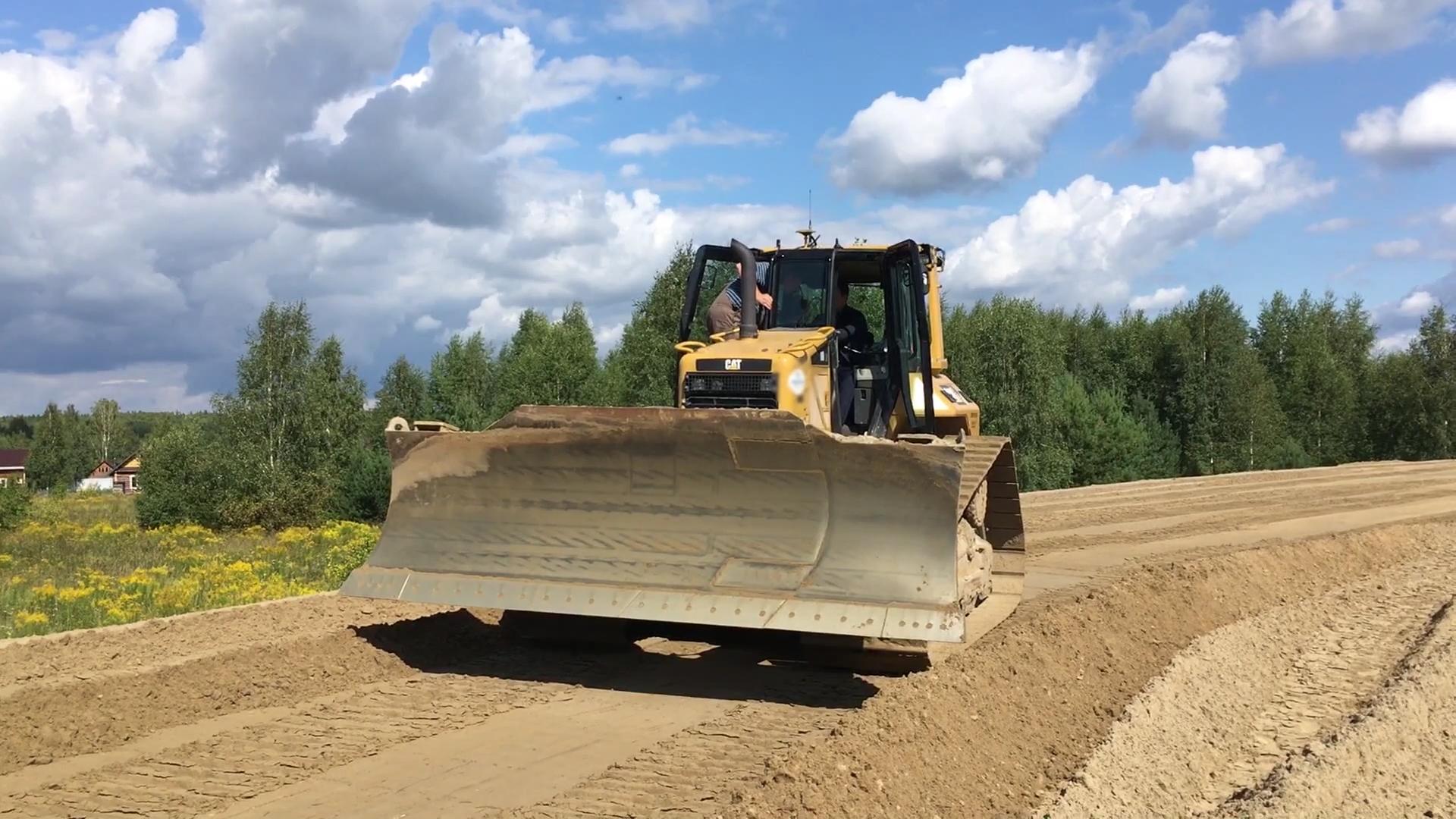 Строители используют инновационные технологические решения при создании дороги Неклюдово – Золотово