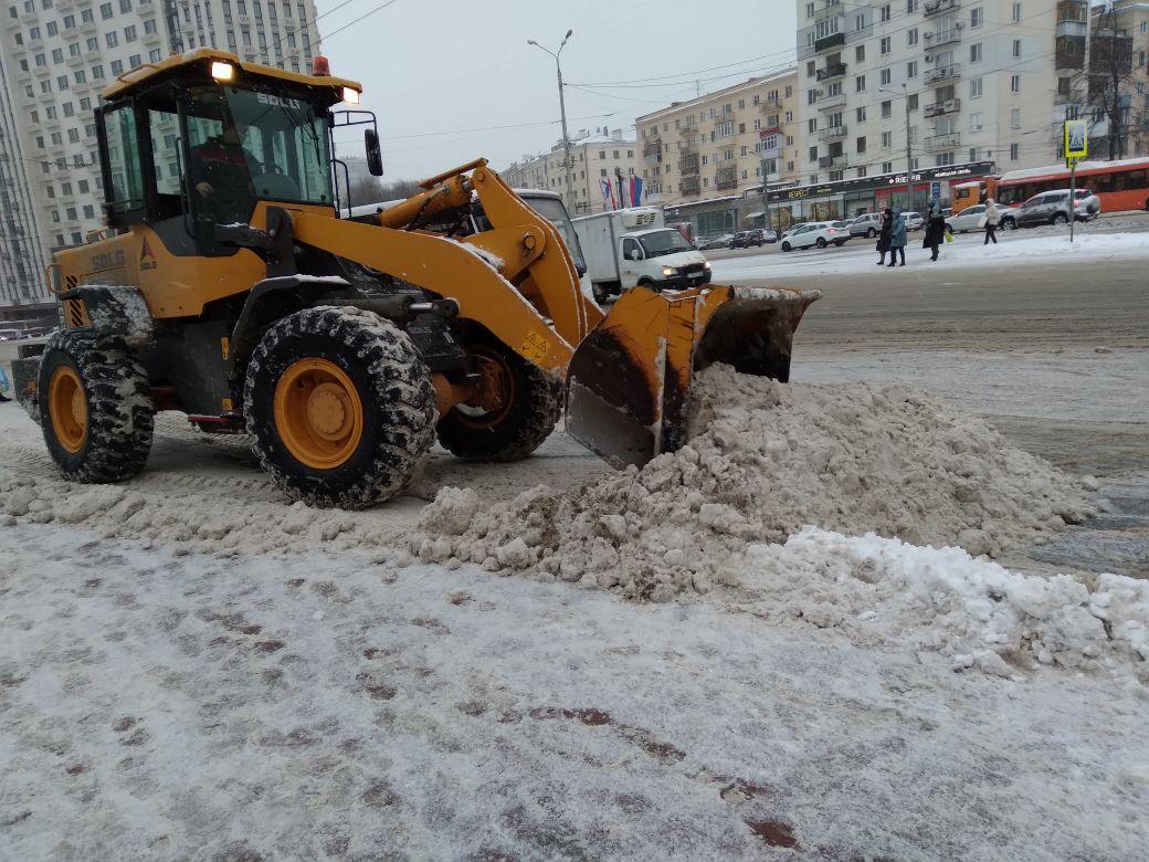 Нижегородцы заказали подарок на 800-летие Нижнего Новгорода - много снегоуборочной техники