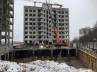 Ход строительства дома № 3 в ЖК Солнечный - фото 32, Ноябрь 2017