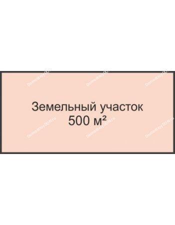 Студия 500 м² в КП Ореховая роща, дом Участок № 1, 500 м²