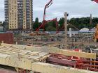 Ход строительства дома Секция 1 в ЖК Гвардейский 3.0 - фото 41, Октябрь 2020