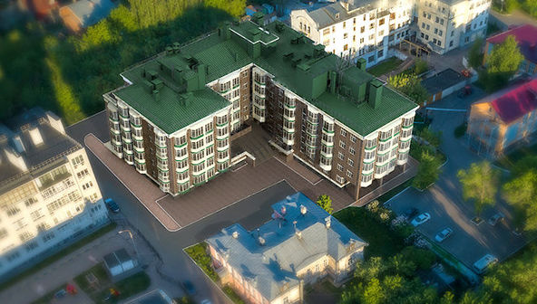 «Дом на Гребешке» в Нижнем Новгороде