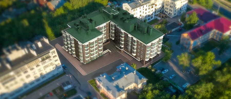 «Дом на Гребешке» в Нижнем Новгороде - фото 1