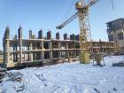 Ход строительства дома № 38 в ЖК Три Сквера (3 Сквера) - фото 34, Февраль 2021