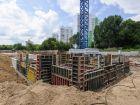 ЖД Жемчужный - ход строительства, фото 14, Июль 2021