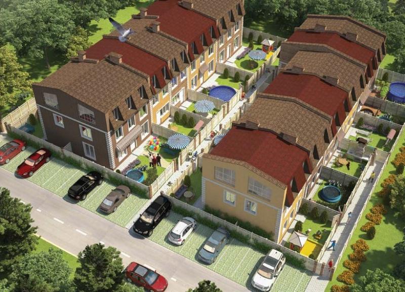 Дом № 115 (72 м2 и 132 м2) в КП Слобода - фото 2