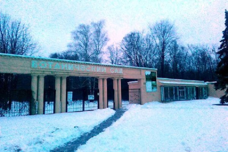 Ботанический сад в Самаре закроют на зимний период