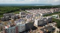 """Строительство ЖК """"Куйбышев"""" в Самаре сняли с высоты птичьего полета"""