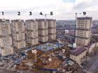 Ход строительства дома Литер 9 в ЖК Звезда Столицы - фото 8, Апрель 2021