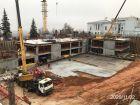 Ход строительства дома на Минина, 6 в ЖК Георгиевский - фото 32, Ноябрь 2020