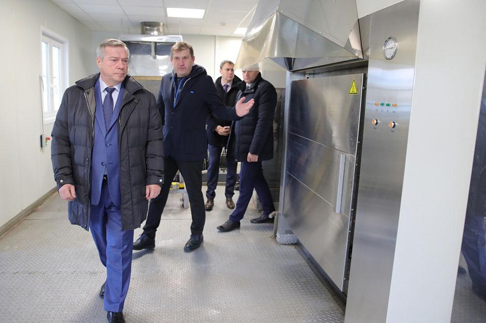 Комплекс «Центр 100» в Ростовской области обеззараживает 600 кг медицинских отходов в час
