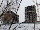 Ход строительства дома №1, секция 2 в ЖК Заречье - фото 8, Март 2021