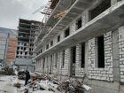 Ход строительства дома № 1 в ЖК Покровский - фото 42, Февраль 2021