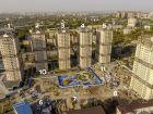 Ход строительства дома Литер 9 в ЖК Звезда Столицы - фото 23, Октябрь 2020