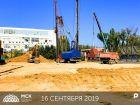 Ход строительства дома Литер 1 в ЖК Рубин - фото 46, Август 2019
