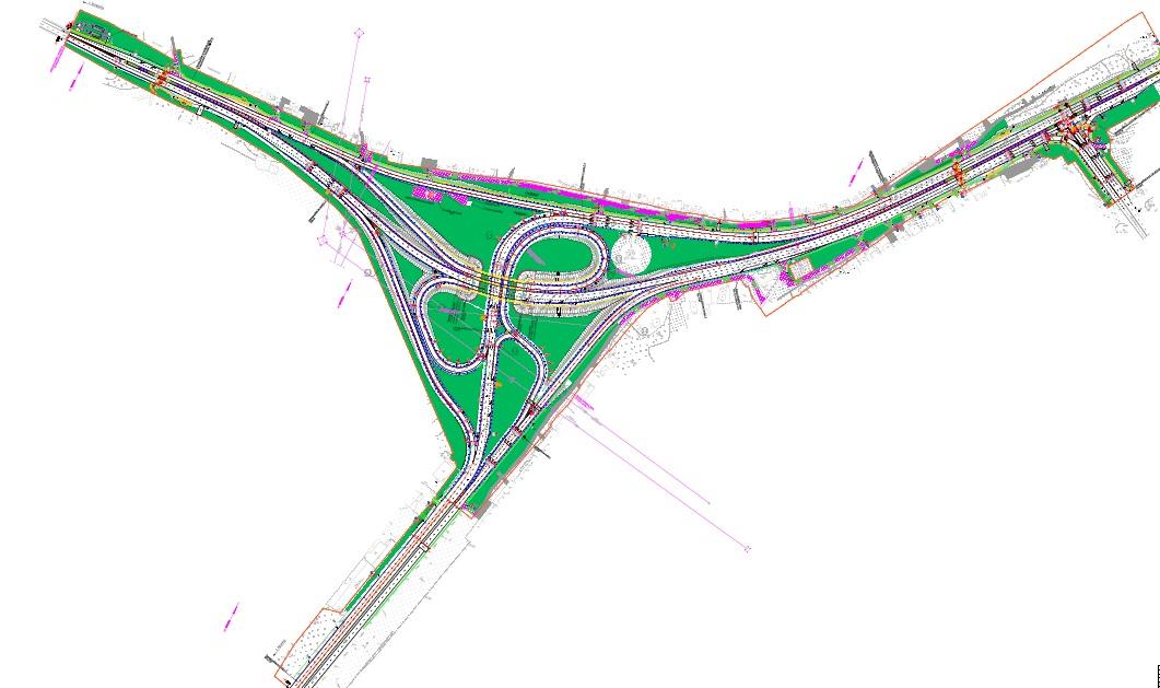 Строительство новой транспортной развязки в районе Ольгино одобрено Госэкспертизой