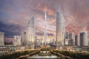 Небоскреб «The Tower» в Дубай-Крик Харбор