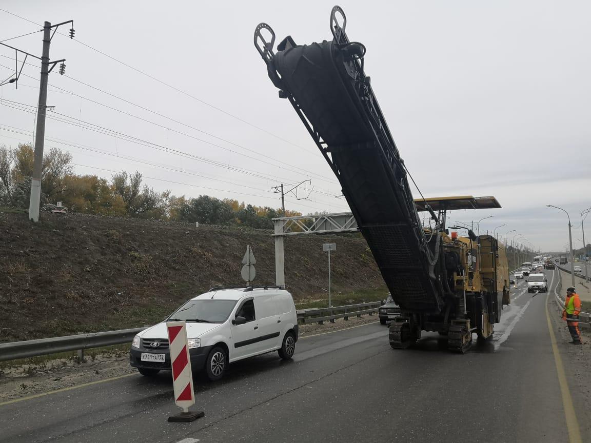 Борский мост в Нижнем Новгороде начали ремонтировать - фото 1